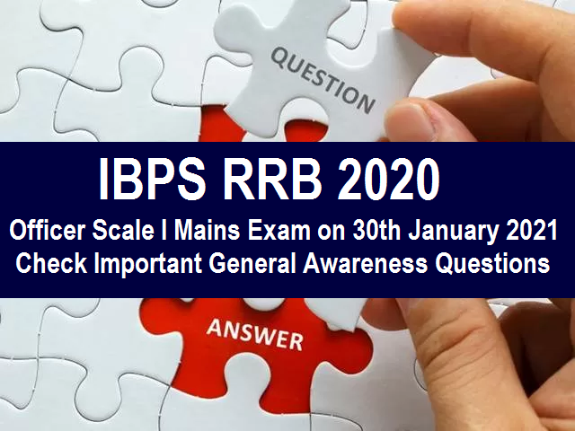 IBPS RRB Mains 2020