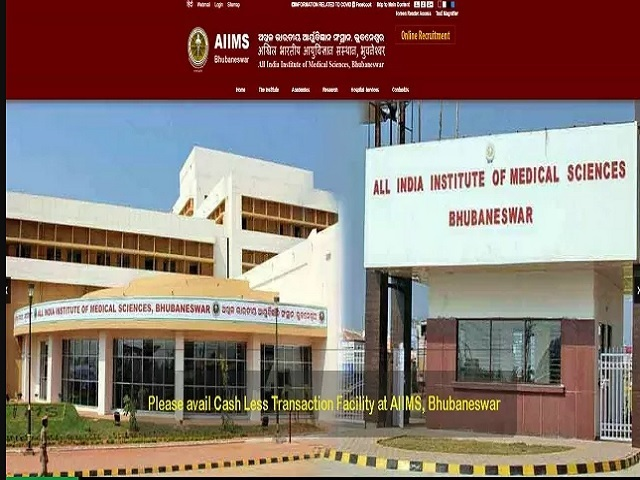 AIIMS Bhubaneswar Interview Schedule 2020