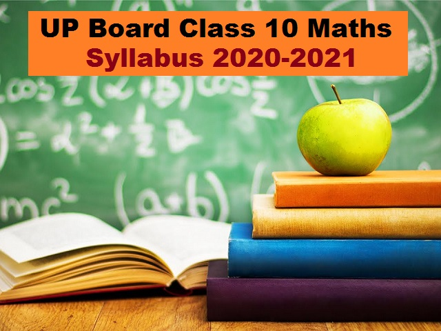 UP Board Class 10 Maths Syllabus PDF English Medium