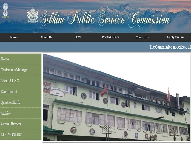 Sikkim PSC Recruitment 2021