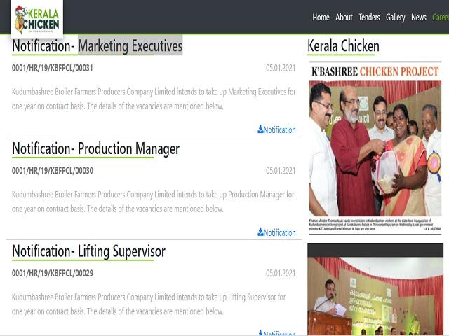 Kudumbashree Recruitment 2021: Apply for Lifting Supervisor and Marketing Executive Posts