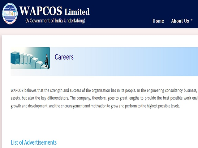 WAPCOS Limited Recruitment 2021