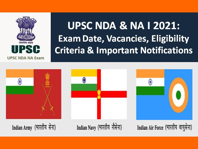 UPSC NDA (1) 2021 Application Withdrawal @upsconline.nic.in till 2nd Feb: Check 400 Vacancies, Eligibility, Selection Process, Exam Dates, Admit Card, Syllabus & Other Notifications