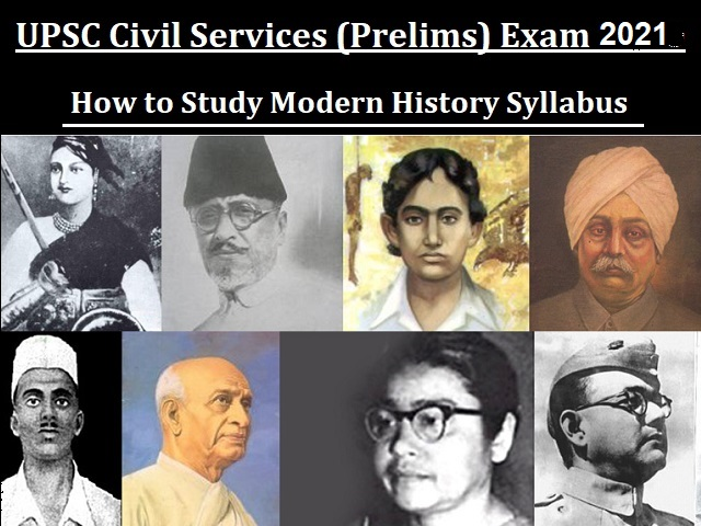 UPSC Civil Services (Prelims) 2021: How to Study Modern History Syllabus
