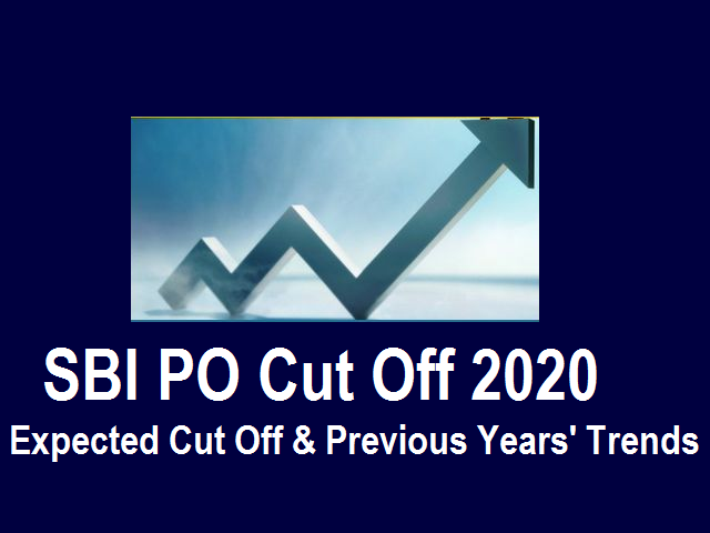 SBI PO Cut off 2020
