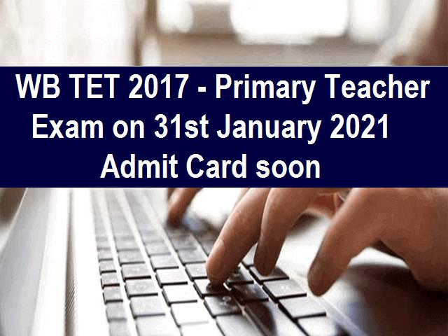 WB TET Exam Update
