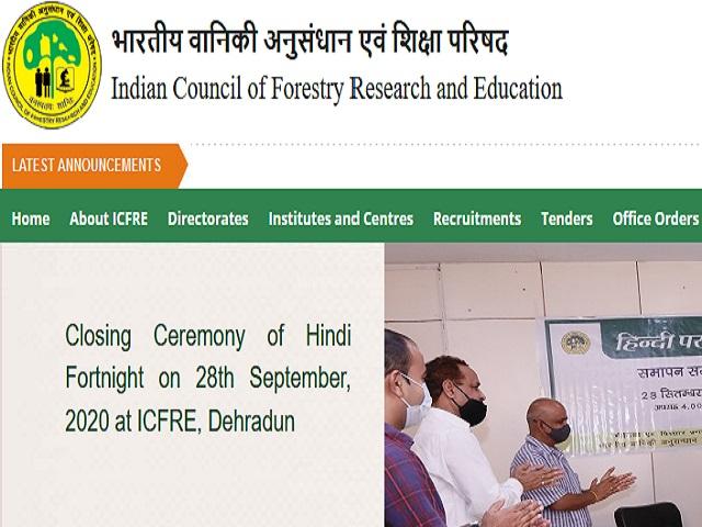 FRI Dehradun Recruitment 2021