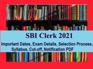 SBI Clerk 2021 Exam