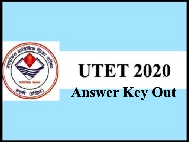 UTET 2020 Answer Key Out Raise Objections Till April 15