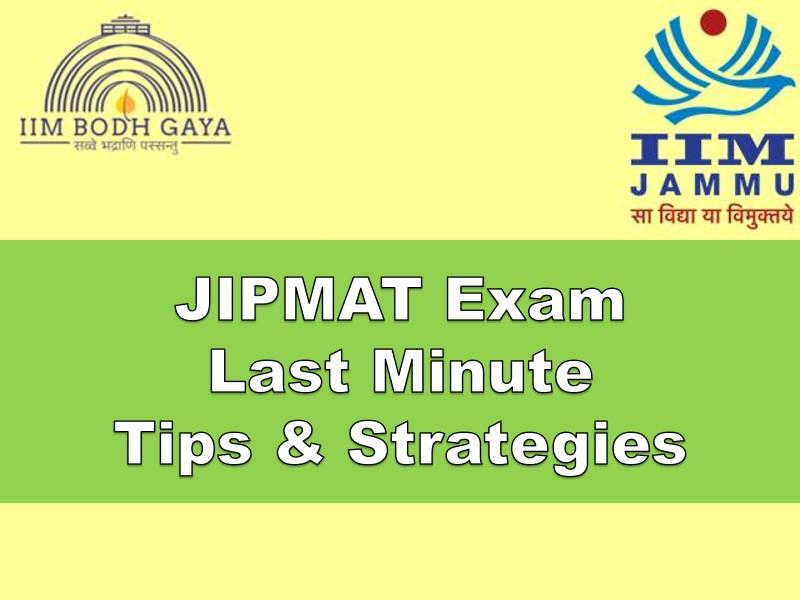 jipmat tips and strategies