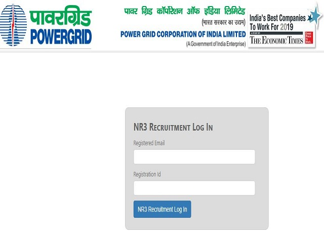 Powergrid PGCIL NR 3 Admit Card 2021