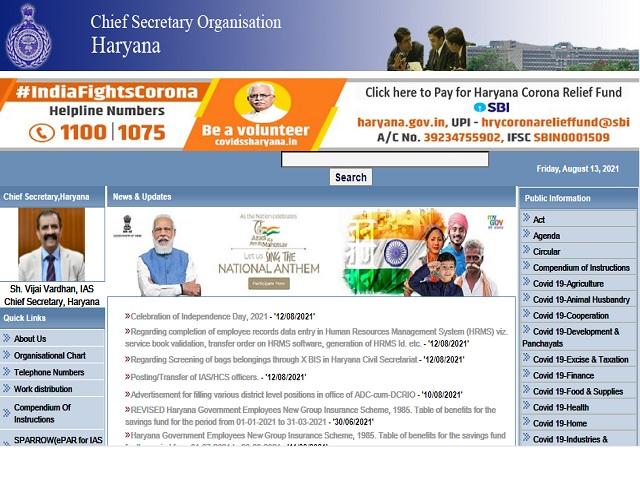CRID Haryana Recruitment 2021: Apply Dist Citizen Information Manager, Field Coordinator & Accountant Posts