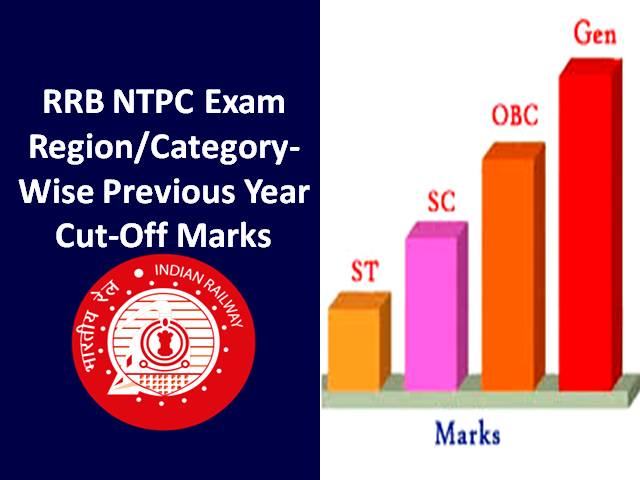 RRB NTPC Previous Year Cut Off Marks: Check Region-wise & Category-wise Score of CBT
