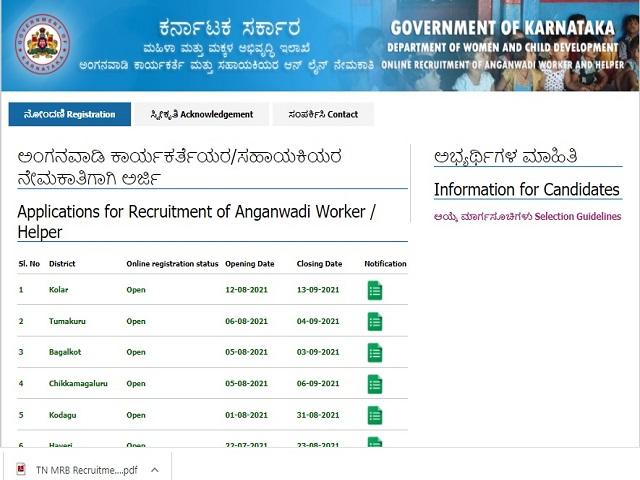 WCD Recruitment 2021: Apply Anganwadi Worker & Helper Posts