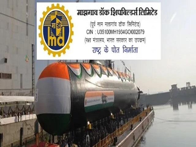 Mazagon Dock MDL Non Executive Exam Date 2021