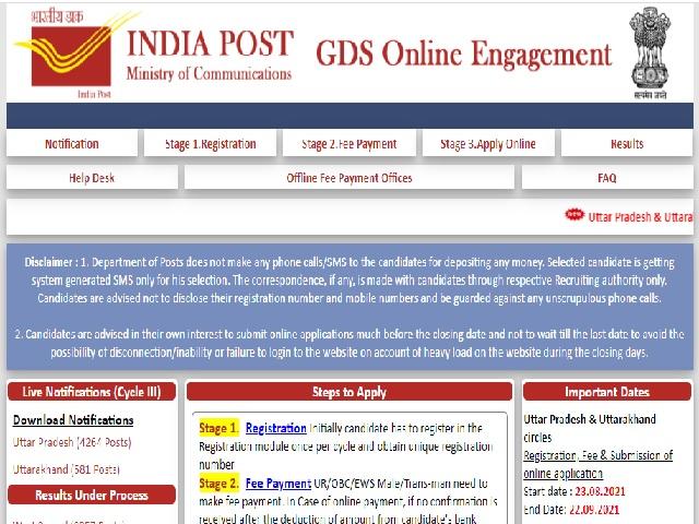 Kerala GDS Result 2021