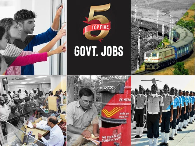 Top 5 Govt Jobs of the Day 26 August 2021