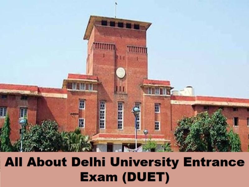 Delhi University Entrance Exam 2021
