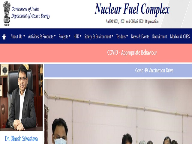 NFC Hyderabad Recruitment 2021