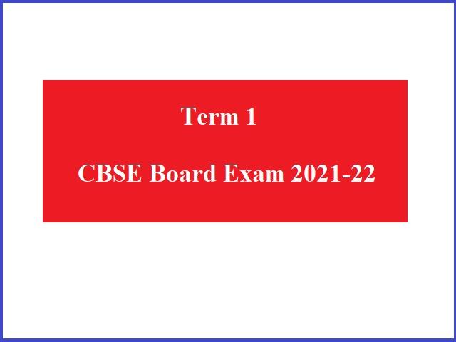 CBSE 10th & 12th Board Exam 2021-22