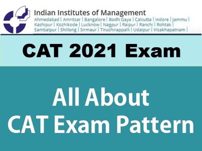 CAT 2021 Exam Pattern
