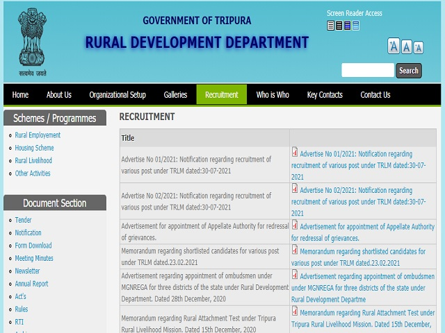 TMRL Recruitment 2021: Apply Chief Operating Officer, Programme Manager, Accounts Officer & Other Posts