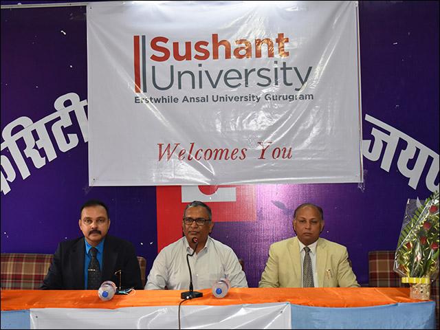 सुशांत विश्वविद्यालय ने मिश्रित शिक्षा प्रणाली को अपनाकर क्षमताओं और अवसरों का किया निर्माण