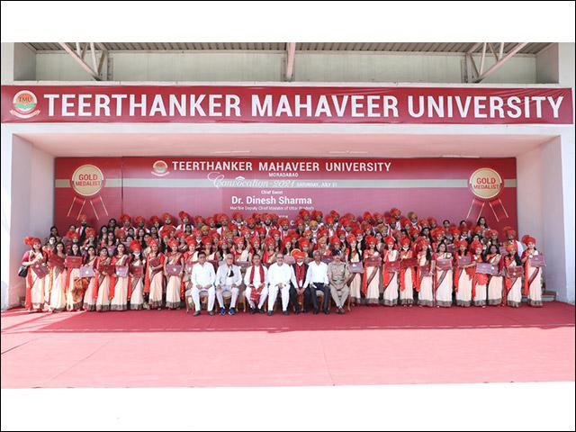 5th Convocation at Teerthanker Mahaveer University