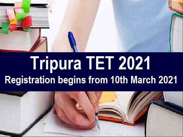 Tripura TET 2021