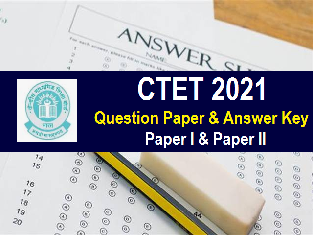 CTET Answer Key 2021