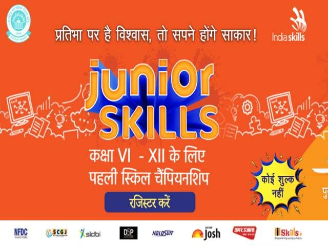 First Junior Skills Challenge: An Innovative Platform for Indian Students