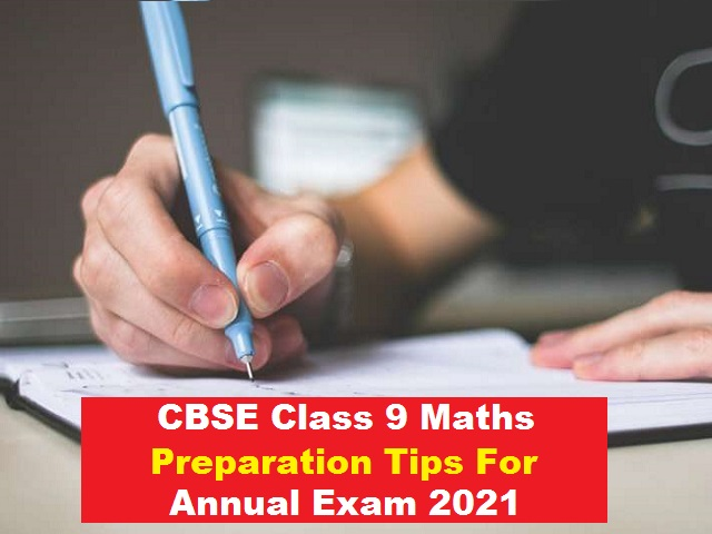 CBSE Class 9 Maths Exam 2021