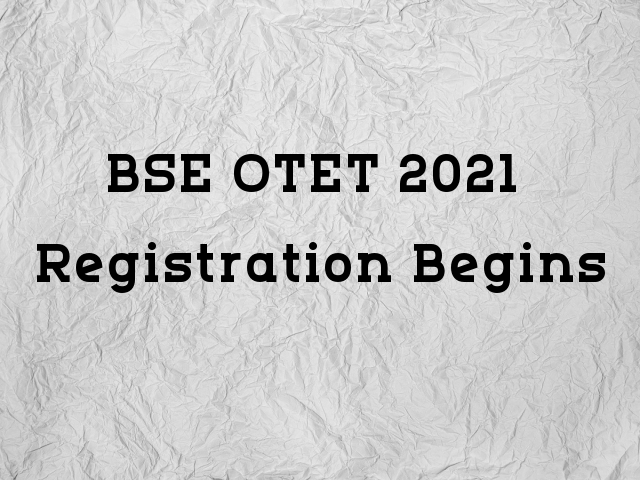 BSE OTET Registrations Eligibility Criteria & How to Apply
