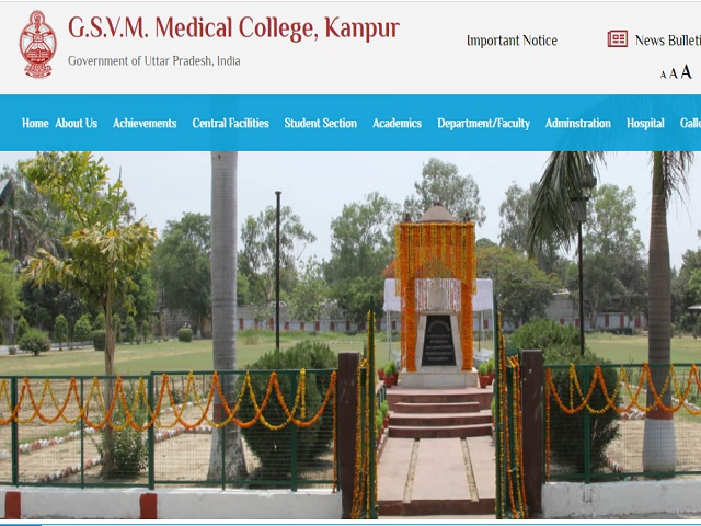 GSVM Medical College Kanpur Recruitment 2021: Apply for Senior Resident and Junior Resident Posts
