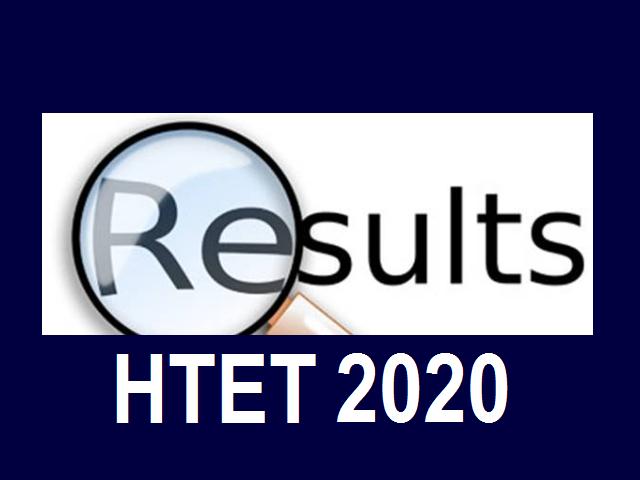 HTET Result 2020