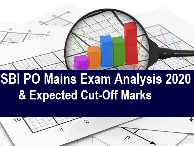 SBI PO Mains Exam Analysis 2020