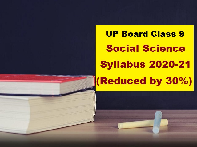 UP Board Class 9 Social Science Syllabus PDF English Medium