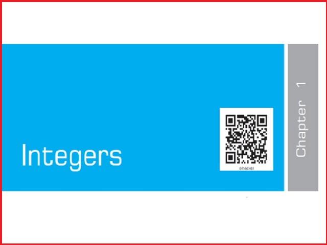 Integers - Chapter 1: Class 7 Maths NCERT Book (PDF)