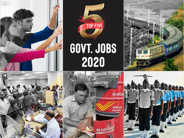 Top 5 Govt. Jobs of the Day–12 July 2021