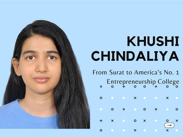 Khushi Chindaliya  makes #ItsPossible