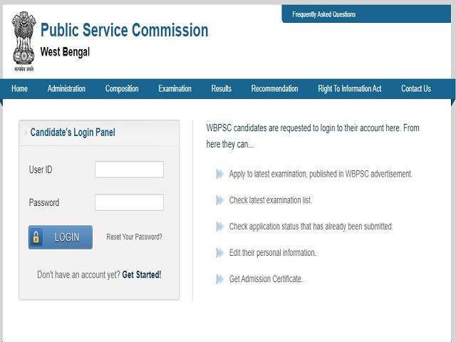 WBPSC Judicial Service2021 Exam
