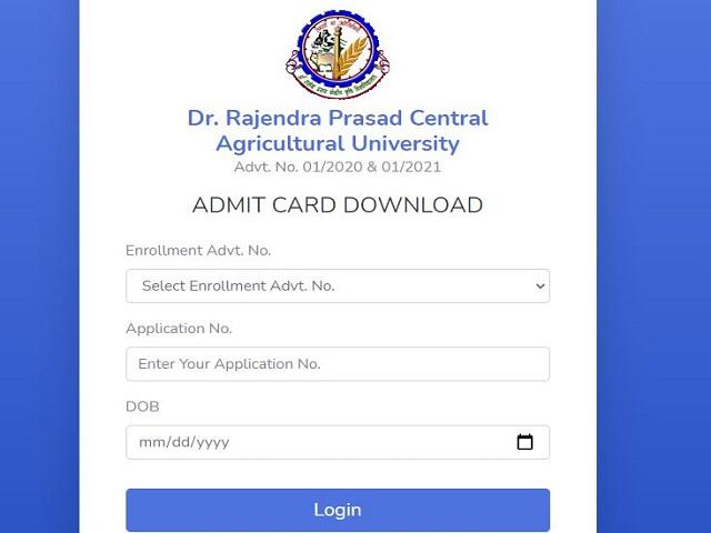 RPACU Admit Card 2021