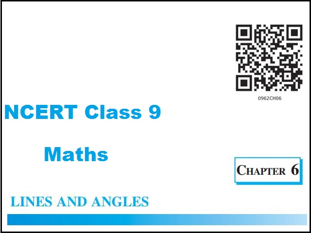 NCERT Class 9 Maths Chapter 6 Lines and Angles
