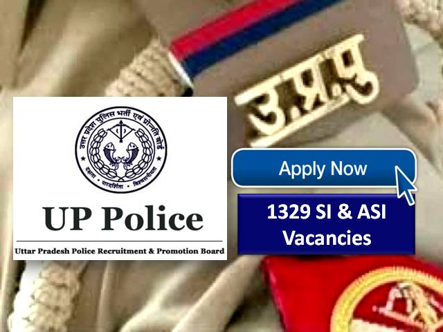 UP Police ASI 2021 UPPRPB registration ends on July 22nd: Receive a direct link to apply online for 1,329 open positions for deputy sub-inspectors