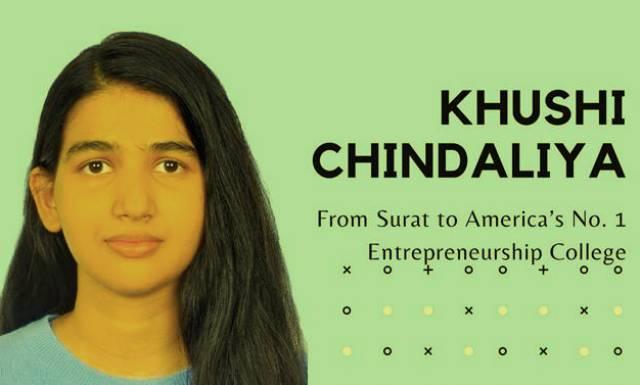 Khushi Chindaliya proves Hardwork is key to realizing your Dreams