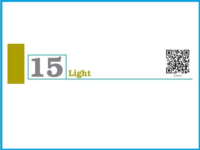 Chapter 15: Light (PDF) - Class 7 Science NCERT Book