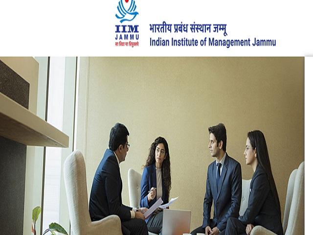IIMJ Recruitment 2021