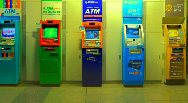 Special services provided by an ATM