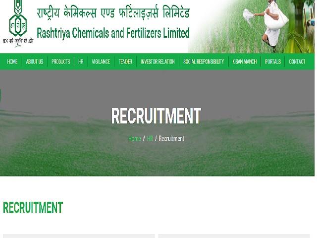 RCF Apprentice Recruitment 2021