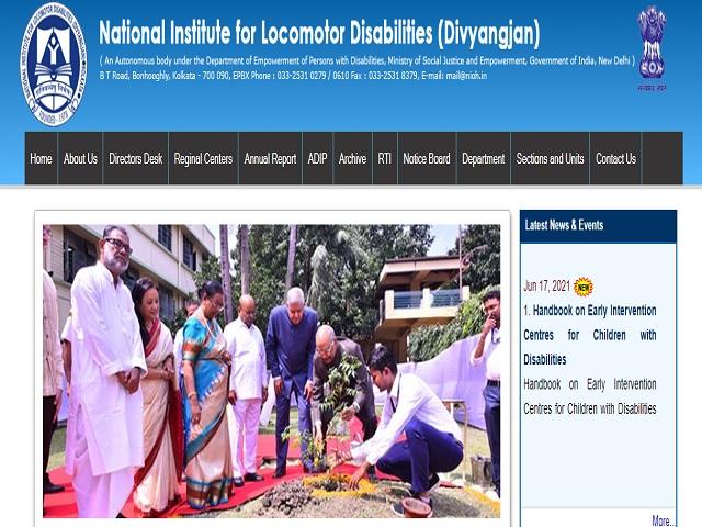 National Institute for Locomotor Disabilities (NILD)